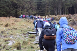 The Wicklow Way TY Bronze Gaisce trip 2016(1)