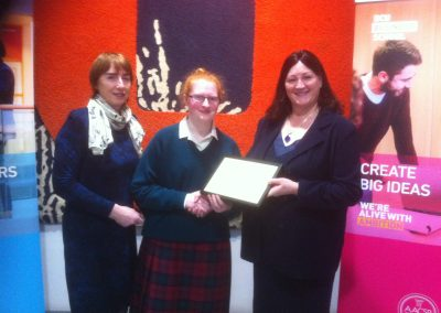 Outstanding Recognition Business Studies Award