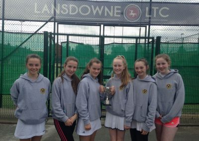 Minor B Team Celebrating Leinster Tennis Minor B League Win