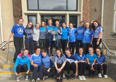 Visit from Sarah McCaffrey, Past Pupil, and Members of the Dublin Ladies Football Team