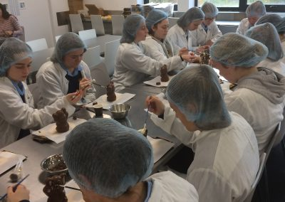 6th Year LCVP and Business Students attend Butlers Chocolate Experience