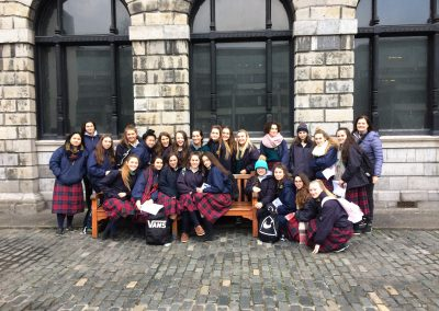 TY Outing to St Patrick's Cathedral and the Book of Kells
